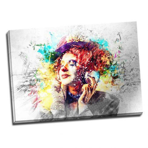 Tablou decorativ modern Culoare si muzica Catalog