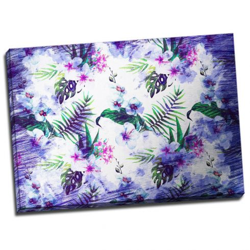 Tablou floral Violet tropical Catalog