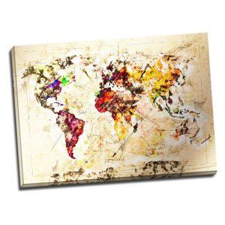 Tablou harta lumii O noua aventura Catalog