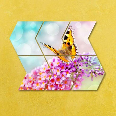 Tablou luminos cu flori Catalog