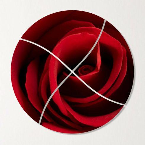 Tablou rotund canvas Trandafir pasional Catalog