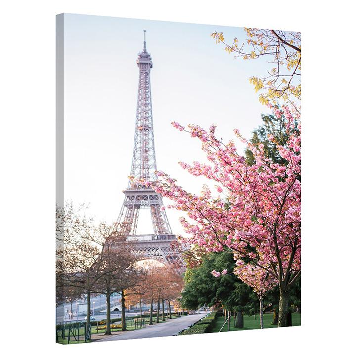 Tablou Paris Primavara la Tour Eiffel