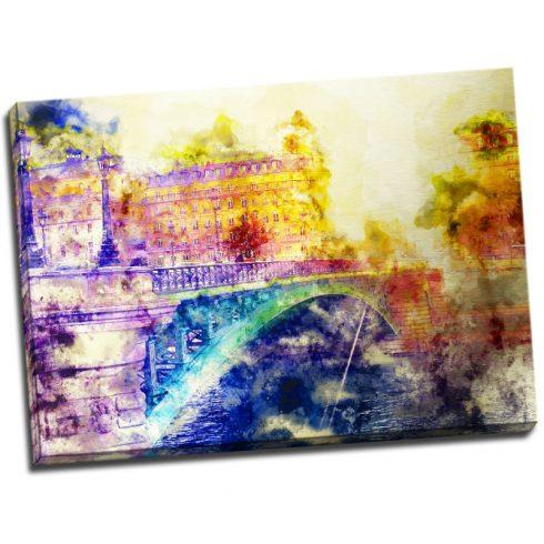 Tablou Paris cu aspect de acuarela Catalog