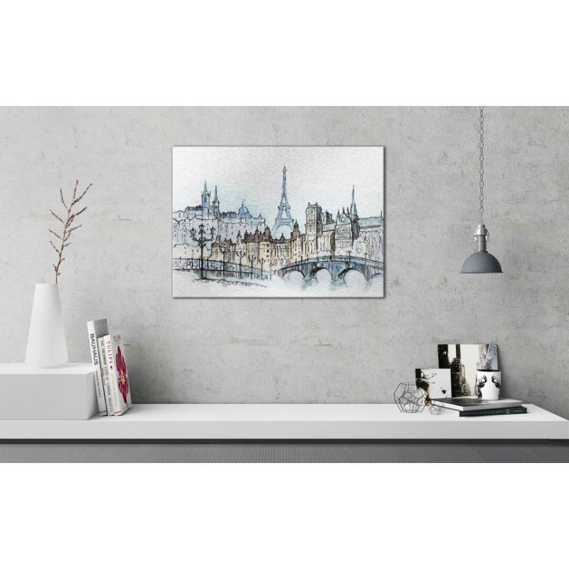 Tablou Paris cu aspect de schita - Ambient 2