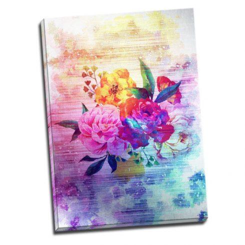 Tablou cu flori Feerie in culori Catalog