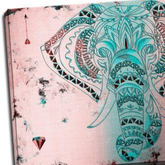 Tablou pentru dormitor - Elefant de legenda Detaliu