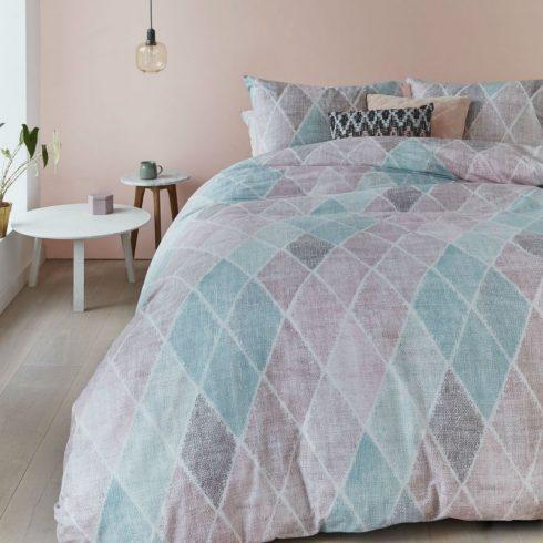 Lenjerie pat clasica romburi pastel Castillo - Ambient 1