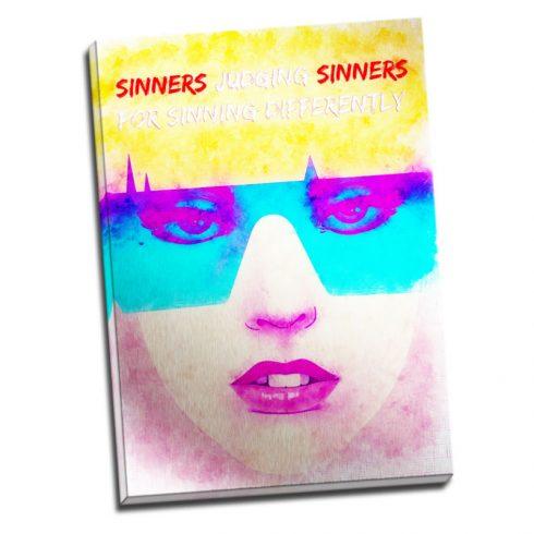 Tablou mesaj - Sinners - Aspect zona luminata