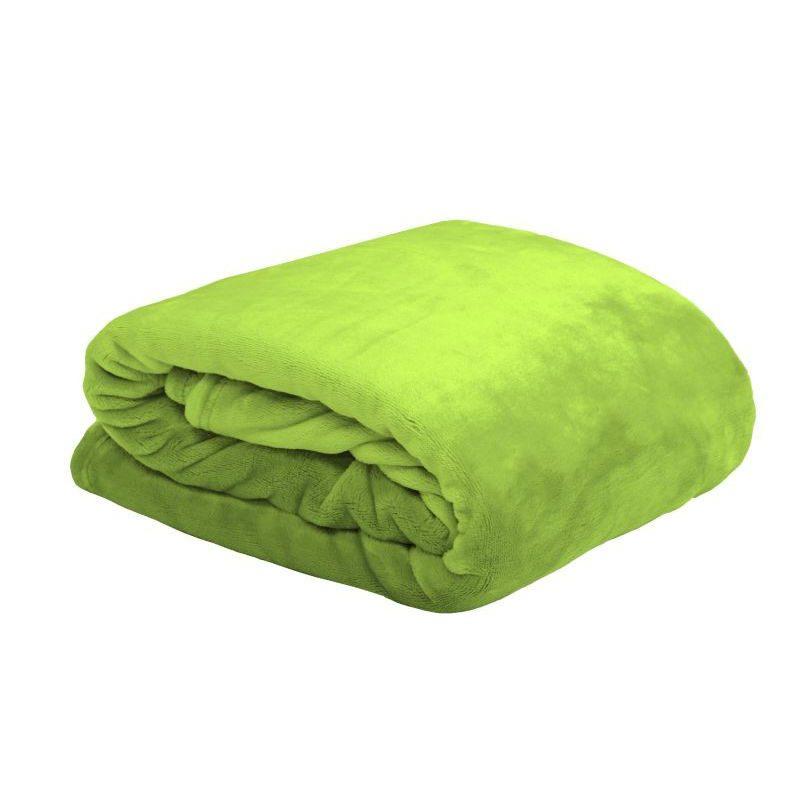 Patura verde deschis pufoasa DouDou - Catalog