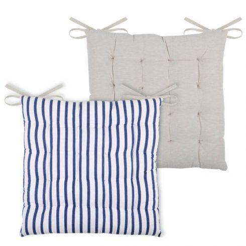 Perna pentru scaun dungi albastre Nautica - Catalog
