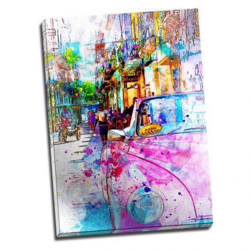 Tablou Havana modern - Culori cubaneze - Aspect zona luminata