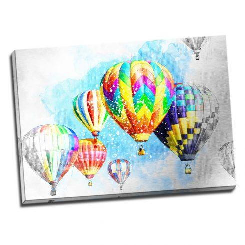 Tablou baloane cu aer - Bucurie - Aspect zona luminata