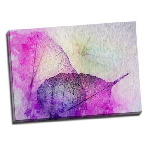 Tablou modern cu frunze violet - Catalog