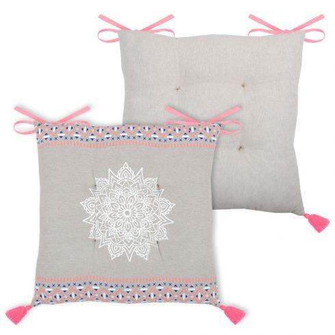 Perna pentru scaun cu ciucuri roz Roma - Catalog