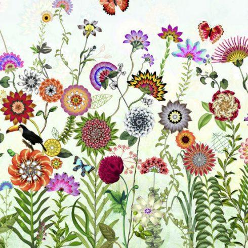 Fototapet cu flori colorate Brazil - Catalog