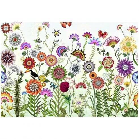 fototapet cu flori