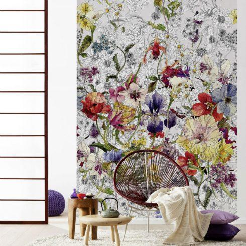 Fototapet flori colorate Flora - Ambient 1