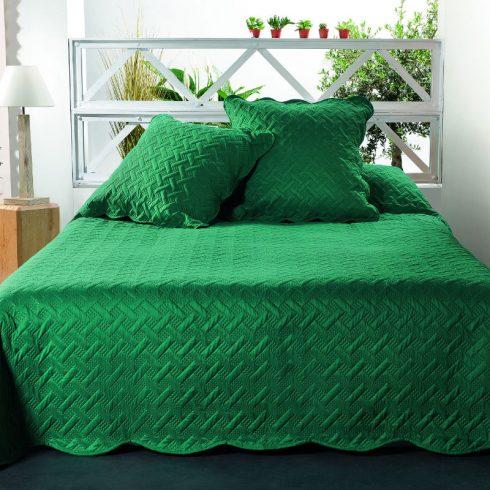 Cuvertura verde cu fete de perna Californie - Catalog