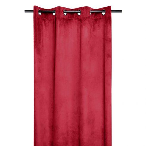 Draperie rosie catifelata Danae - Catalog