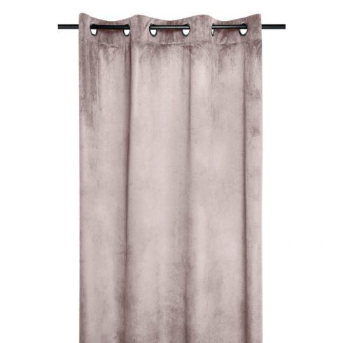 Draperie roz pudrat catifelata Danae - Catalog