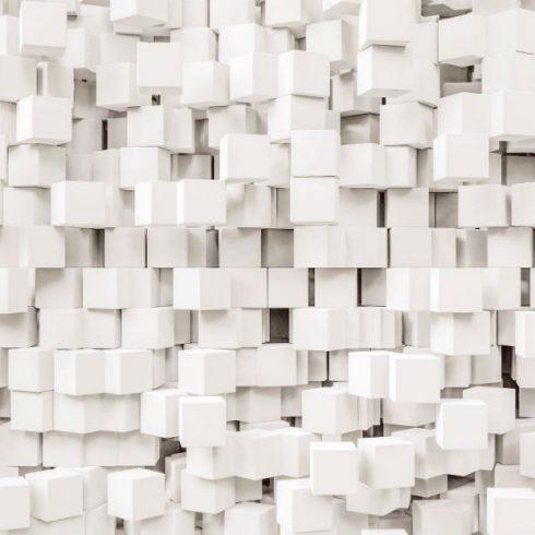 Fototapet cu efect 3D Cuburi - Catalog