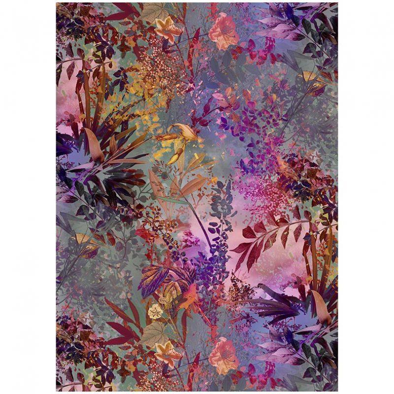 Fototapet cu plante multicolore