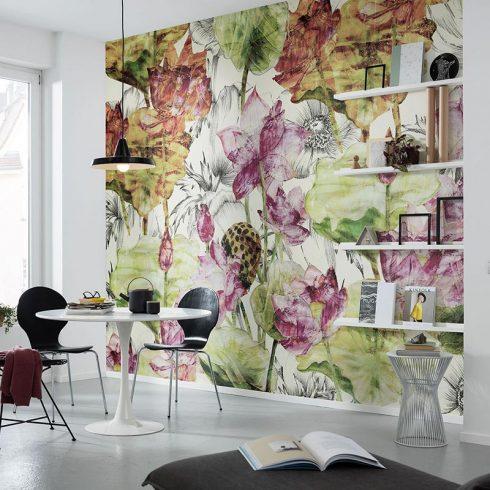 Fototapet flori de lotus