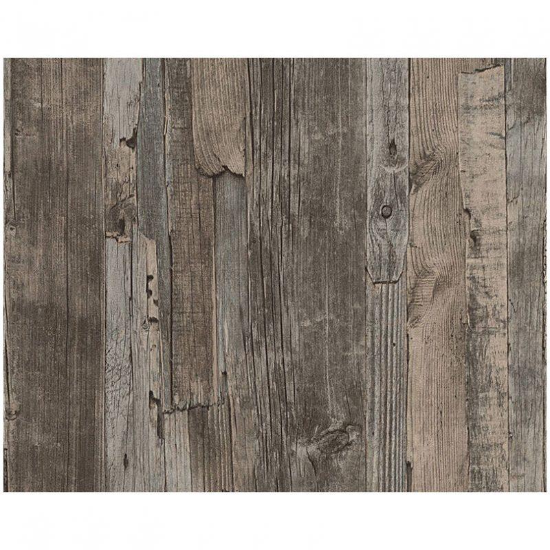 Tapet lemn rustic vlies