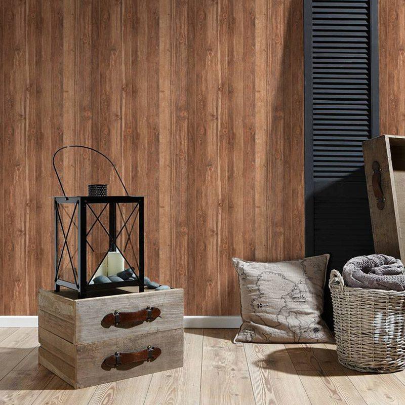 Tapet rustic lemn vlies AS Creation