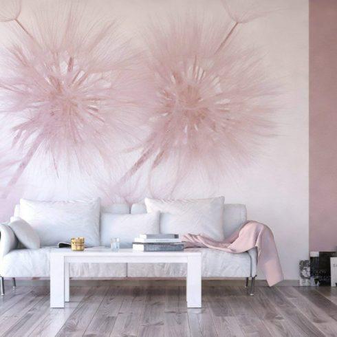 Fototapet papadie roz delicat - Ambient