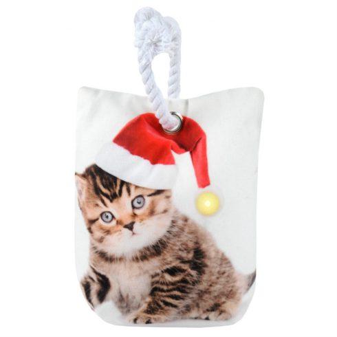 Decoratiune Craciun opritor de usa pisicuta - Catalog