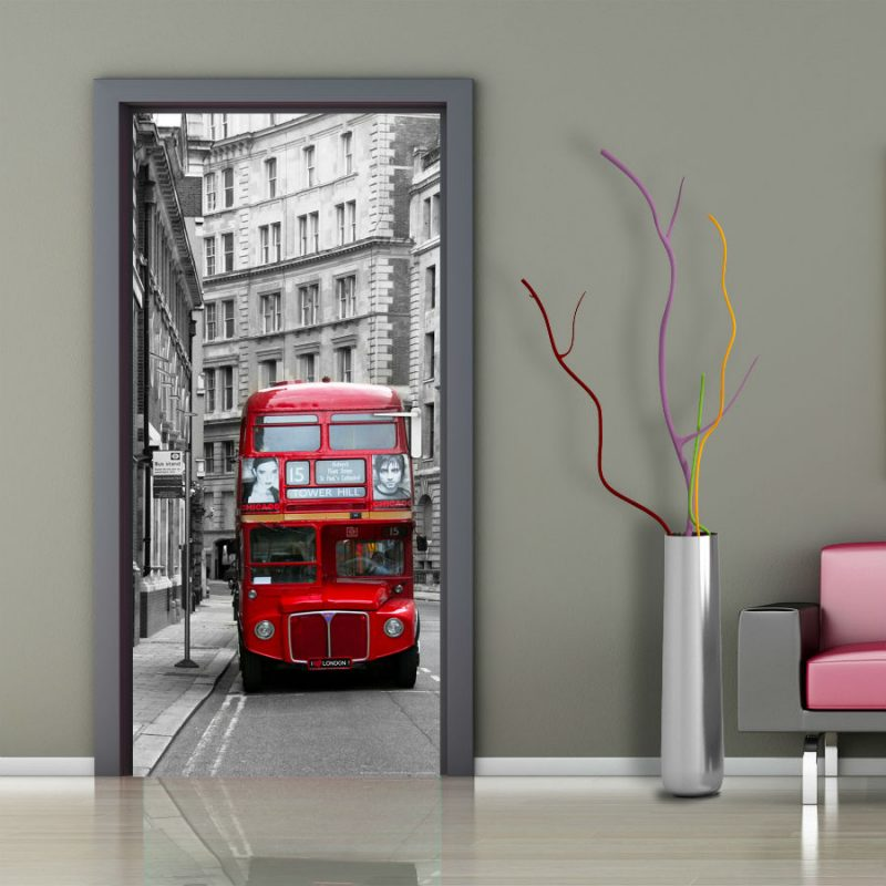 Fototapet double decker Londra - Ambient