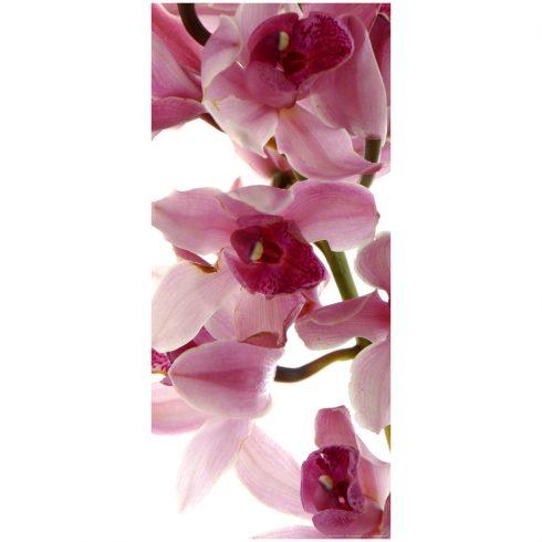 Fototapet pentru usa cu orhidee roz - Catalog