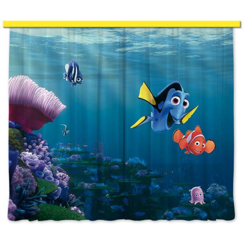 Perdele camera copii Finding Nemo - Catalog