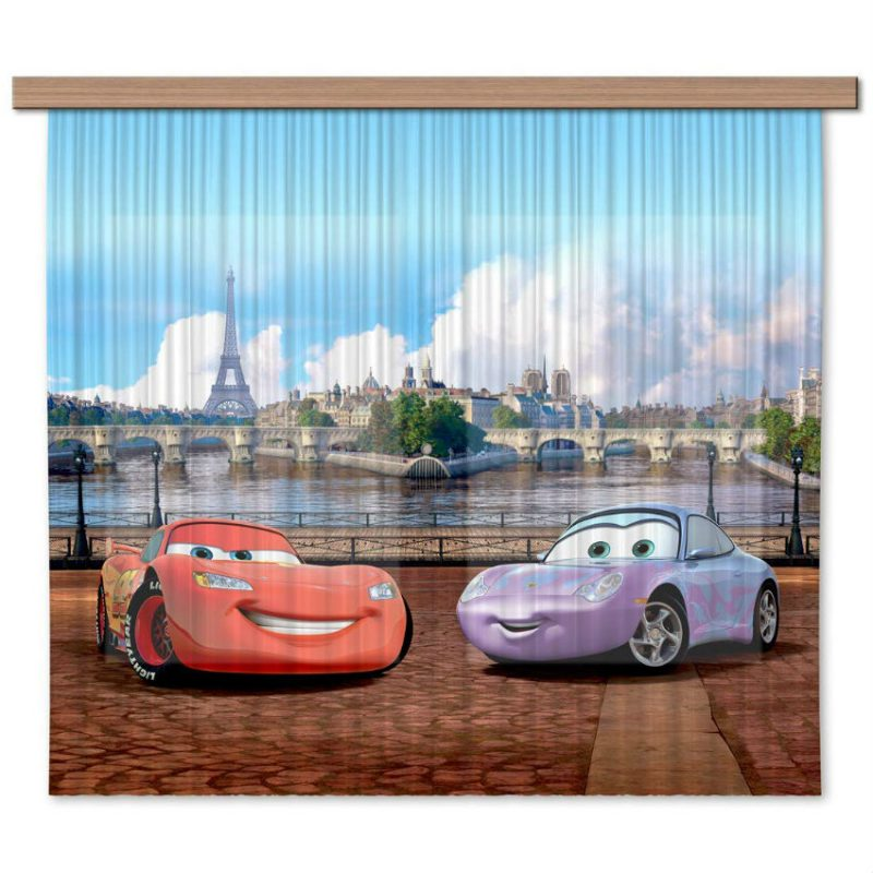Perdele copii Cars - Fulger McQueen si Sally - Catalog