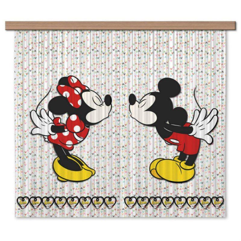 Perdele copii Mickey si Minnie - Catalog