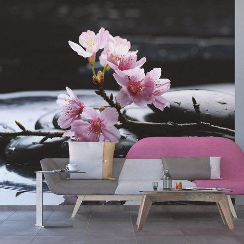Fototapet cu flori de cires