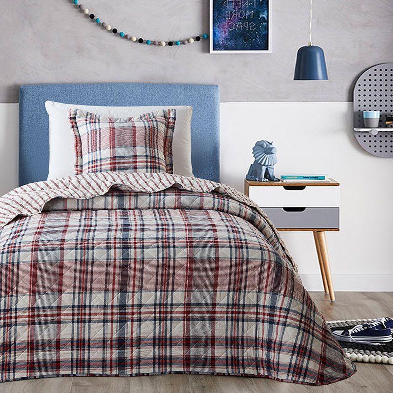 Cuvertura pat cu carouri Dipinti