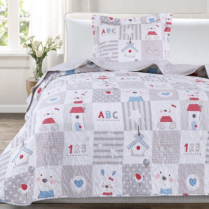 Cuvertura pentru pat copii Carina