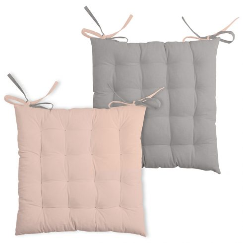Perna scaun roz cu doua fete Duo