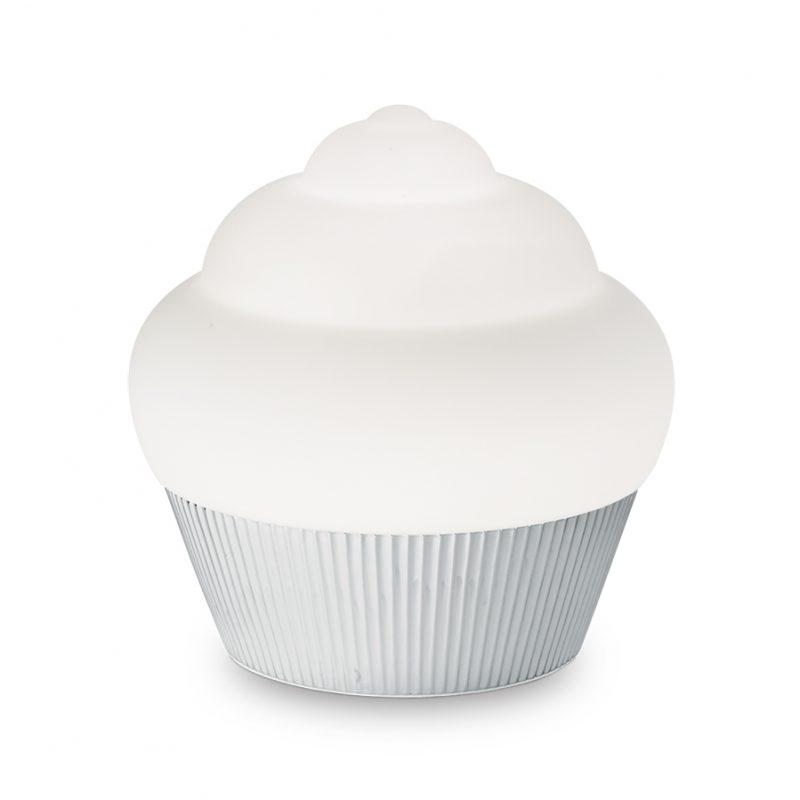Lampa cofetarie argintie Cupcake TL1