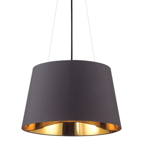 Pendul negru Ideal Lux Nordik SP6