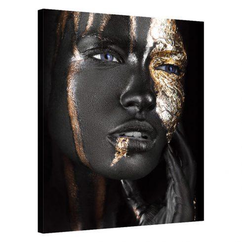 Tablou auriu cu negru Golden Beauty