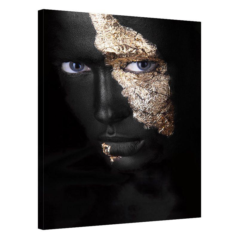 Tablou auriu cu negru Golden Charm