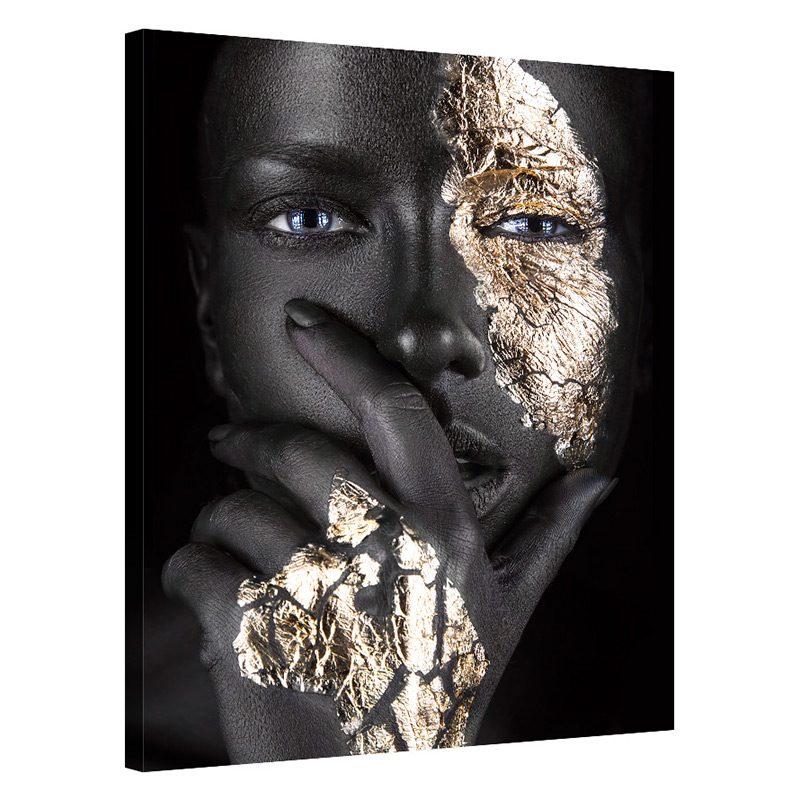 Tablou auriu cu negru Golden Feeling