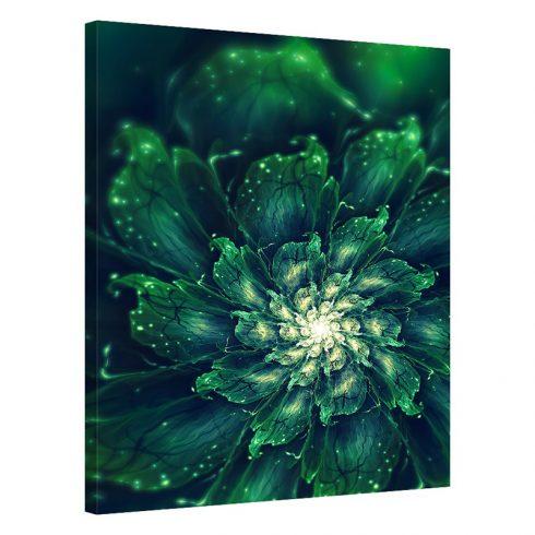 Tablou verde echeveria Verdant Spiral