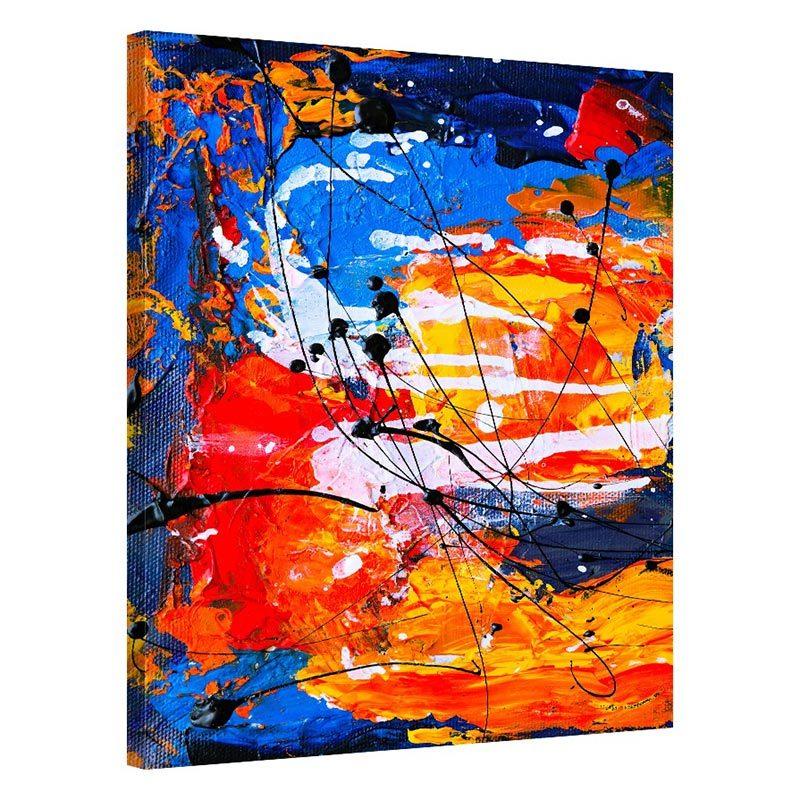 Tablou abstract colorat Regasire