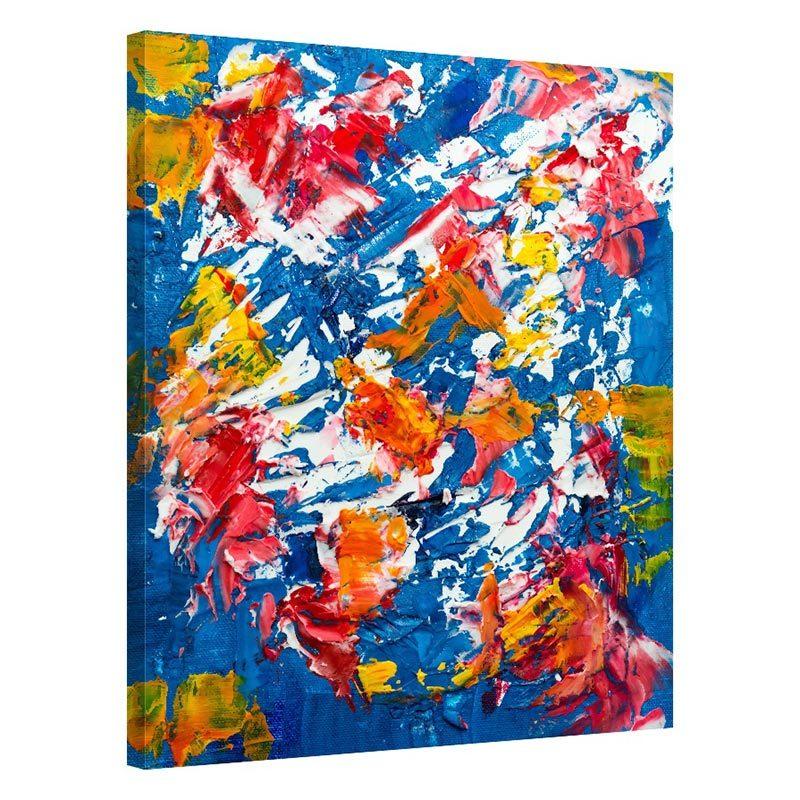 Tablou abstract tricolor Atitudine