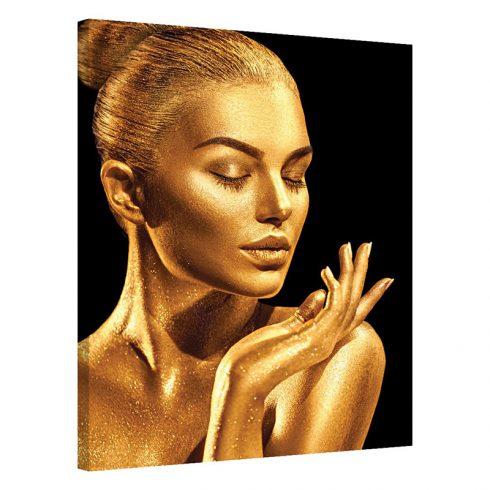 Tablou auriu modern Golden Glamour