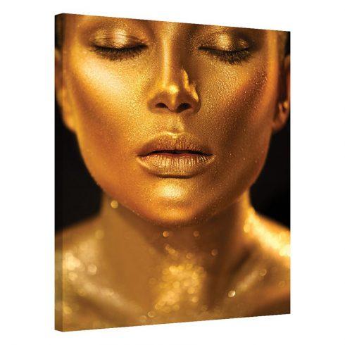 Tablou auriu modern Sensibilitate de Aur